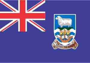 Bandeiras das Ilhas Malvinas